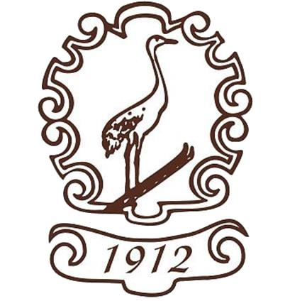 logotip pri žerjavu
